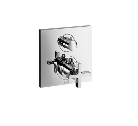 Citterio termostato con llave de paso for Llaves con sensor para bano