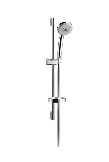 Croma 100 unica barra de ducha 65cm for Barra para ducha